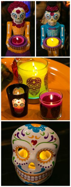 From designs inspired by Dia de Los Muertos to sweet scents and whimsical candlelight, this is Halloween at PartyLite.