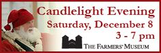 A wonderful holiday event in Cooperstown.  Come stay at the inn and enjoy the holiday spirt of Cooperstown.