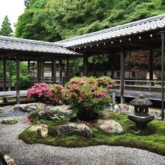 Need Japanese Garden Ideas? A lot of people have taken an interest in Japanese gardening, in recent times. Like any other pastime, gardening is a hobby that is enjoyed more when you have received the proper infor Japanese Tea House, Japanese Garden Design, Japanese Gardens, Japan Design, Residential Landscaping, Japan Garden, Meditation Garden, Kyoto, Japanese Architecture