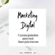 7 Melhores Cursos de Marketing Digital Gratuitos Digital Marketing Strategy, Marketing Online, Sales Strategy, Inbound Marketing, Business Marketing, Affiliate Marketing, Marketing And Advertising, Advertising Techniques, What Is Social