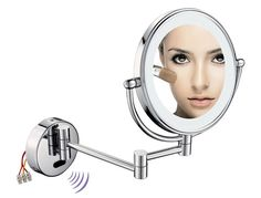 Sensor-Activated LED Lighted Magnifying Makeup Mirror 1007