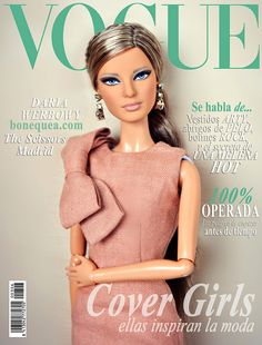 Vogue magazine: Hérve Léger Barbie