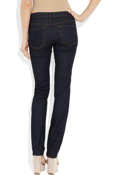 72e9757608bd J Brand - 814 mid-rise straight-leg jeans