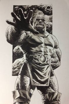 Darkseid by Lee Bermejo