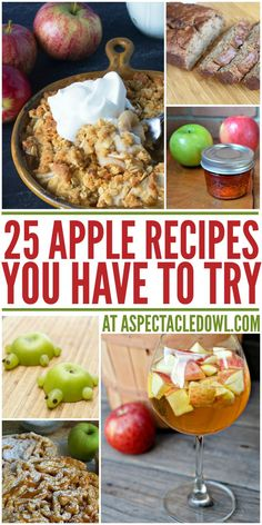 25 Apple Recipes You Have to Try this Fall