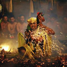 Fire Dance - Kunto Antariksa. I'll never forget seeing a guy dance on fire in Bali.