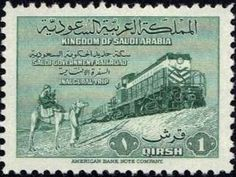 Railroad Riyadh/Damman - 1952