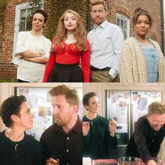 "Amanda Abbington in ""We are the family"""