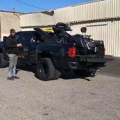 Motorcycle Towing, Motorcycle Trailer, Big Trucks, Ford Trucks, Pickup Trucks, Car Trailer, Utility Trailer, Custom Trucks, Custom Cars