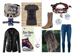 """""""Untitled #198"""" by renee-love on Polyvore featuring Frame Denim, Pandora, Jack Vartanian, LE3NO and Bling Jewelry"""