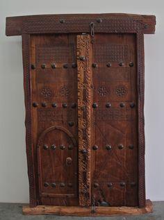 Traditional Omani Doors now available @ Showcase Dubai