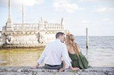 Arielle + Jordan, romantic Vizcaya engagement session | Vizcaya Museum and Gardens | Miami, Florida | 13:13 Photography | www.1313photography.com