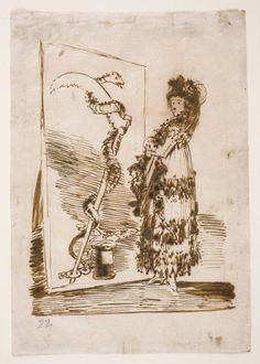 Goya en El Prado: Mujer / serpiente