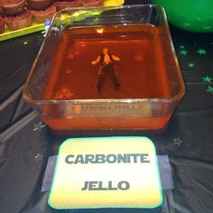 Han Solo in Carbonite jello, and other awesome Star Wars party ideas!