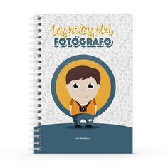 Cuaderno XL - Las notas del fotógrafo, encuentra este producto en nuestra tienda online y personalízalo con un nombre. Notebook, Cover, Notebooks, Report Cards, Store, The Notebook, Exercise Book
