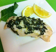 Eat Yourself Skinny!: Lemon Basil Chicken