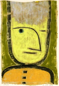 The Athenaeum - Yellow-Green (Paul Klee - )