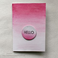 Grani di pepe: Hello - card