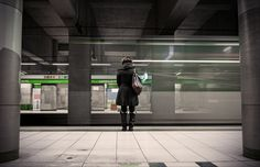 Underground by Valerio Zanicotti on 500px - subway station Porta Garibaldi