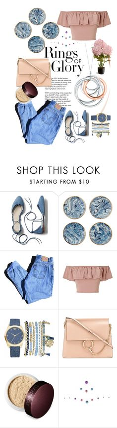 """""""1000 followers 💋"""" by aycanyl ❤ liked on Polyvore featuring Tiffany & Co., Gap, AERIN, Levi's, Miss Selfridge, Mixit, Chloé, Laura Mercier, Johnny Loves Rosie and National Tree Company"""