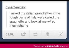 The spaghetto.