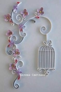 What is quilling? Guide to quilling constructions + 45 awesome ideas! Toilet Paper Roll Art, Rolled Paper Art, Toilet Paper Roll Crafts, Diy Paper, Paper Wall Art, Paper Quilling Patterns, Quilling Paper Craft, Quilling Flowers, Paper Flowers