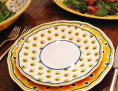 I pinned this from the Le Cadeaux - Provencal-Inspired Melamine Tabletop event at Joss and Main!