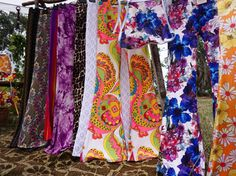 All the colours of the rainbow at @emuplainsmarket for 1 more hour. Come check out all the new flares and matching tops  #flares #velvet #bellbottoms #velvetflares #emuplainsmarket #ethicalfashion #groovie #boho #bohemian #gypsy #hippie #bohostyle #fashion #style #seventies #sixties #summer #market #craft #gypsysoul #vintage #vintagestyle #iheartepm