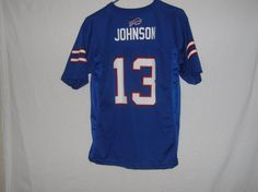 3e3070057 Buffalo Bills Stevie Johnson youth L 14 16 football jersey NFL Team Apparel   NFLTeamApparel