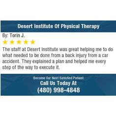 The staff at Desert Institute was great helping me to do what needed to be done from a...
