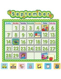Teacher Created Resources School Calendar Bulletin Board, Polka Dot (4188) by Teacher Created Resources, http://www.amazon.com/dp/B000VE57US/ref=cm_sw_r_pi_dp_.ZBlqb100TBYX