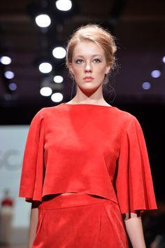 Wellington Fashion Week 2014 'Scarlet' by Rebecca Robbie Bell Sleeves, Bell Sleeve Top, Niki Chow, Scarlet, Shoulder Dress, Nice, Instagram, Tops, Dresses