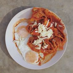 Poolside Friday Morning Chilaquiles   x @mono1984  ________  #offthebittenpath