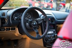 RallyWays write up on the install of a Nardi Deep Corn 330mm. WANT!