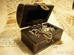 miniature treasure chest