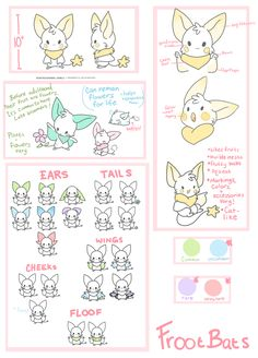 Frootbats - Open Species by nyanobite on DeviantArt