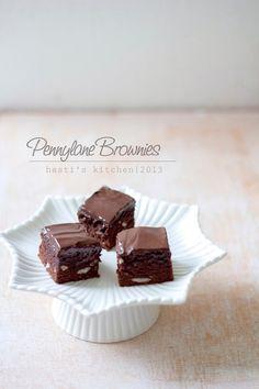 HESTI'S KITCHEN : yummy for your tummy: Pennylane Brownies