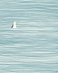 Seagull + Lines
