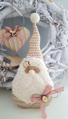 Weihnachtsdeko - Nikolaus Landhaus Weihnachten Geldgeschenk - ein Designerstück von Feinerlei bei DaWanda