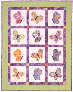 This is supposed to be for a baby girl, but I would change the size and colors for myself. I love butterflies! - Page 2