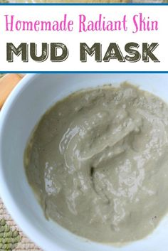 This  Homemade Mud Mask recipe is so simple and work really well too using just a couple ingredients.
