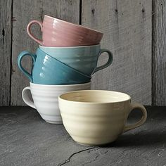 Crafted Oversized Mug #westelm- Great for everything from Coffee to Cereal to Soup