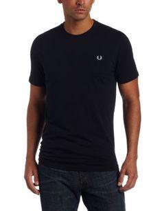 Fred Perry Men's Crew Neck Plain T-Shirt, Dark « Impulse Clothes