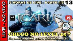 RIDERS OF ICARUS GAMEPLAY - LIVE de 5 HORAS CHEGANDO AO LEVEL 25 no open... Icarus Online, Riders Of Icarus, Live, Comic Books, Comics, Finals, Cartoons, Cartoons, Comic