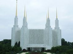Washington D.C. Temple--visitors center and grounds only