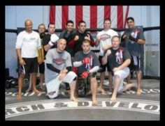 MMA Tapout training center Las Vegas..