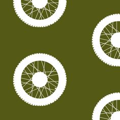 Classic Military Motorbike Wheels fabric by smuk on Spoonflower - custom fabric www.spoonflower.com/profiles/smuk