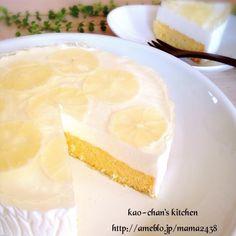 うま~♪簡単*レモンムースケーキ* | かおチャンさんのお料理