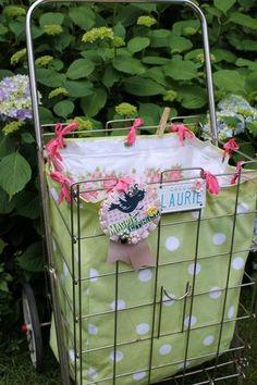Cute flea market cart! Magpie Ethel.