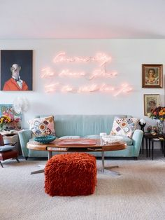 home decor eclectic See inside the bold, eclectic home of Angela Missoni. Photography by: Fabrizio Cicconi/Living Inside Home Decor Signs, Easy Home Decor, Design Your Home, Home Interior Design, Interior Plants, Cafe Interior, My Living Room, Living Room Decor, Missoni